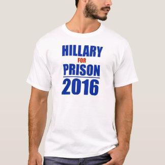 Hillary für Gefängnis 2016 T-Shirt