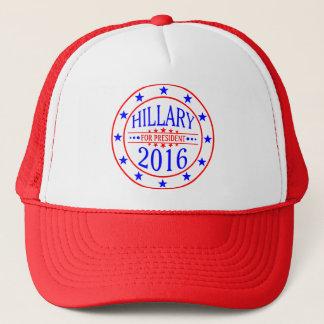 Hillary für Hutentwurf 2016 Truckerkappe