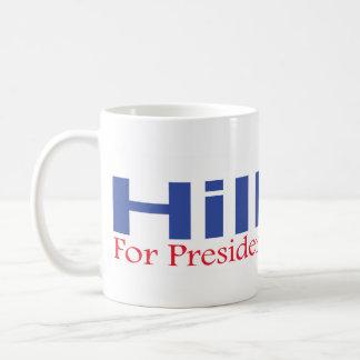 Hillary für Präsidenten im Jahre 2008 Tasse