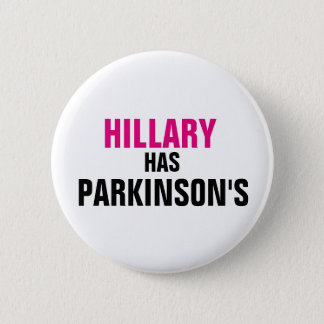 Hillary hat Parkinson Runder Button 5,1 Cm