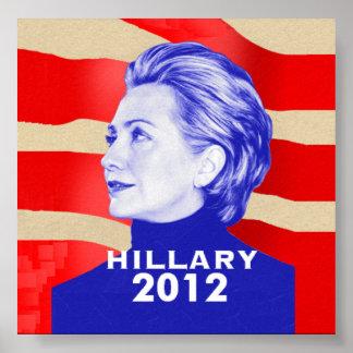Hillaryplakat 2012 poster