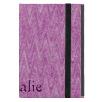 Himbeerzickzack - rosa abstraktes Muster Etui Fürs iPad Mini