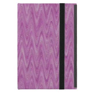 Himbeerzickzack - rosa abstraktes Muster Hülle Fürs iPad Mini
