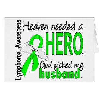 Himmel benötigte ein Held-Ehemann-Lymphom Karte