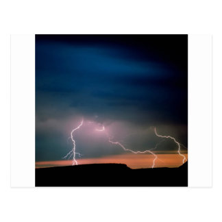 Himmel-instabile Atmosphäre Arizona Postkarte