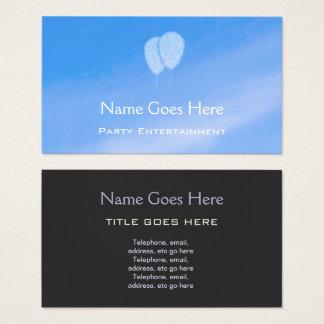 """Himmel-"" Party-Entertainer-Geschäfts-Karten Visitenkarte"