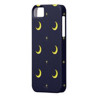 Himmels-Mond- und Stern-Handyfall iPhone 5 Etuis