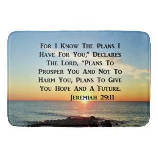 HIMMLISCHER SONNENAUFGANG-JEREMIAS-20:11 VERS BADEMATTE