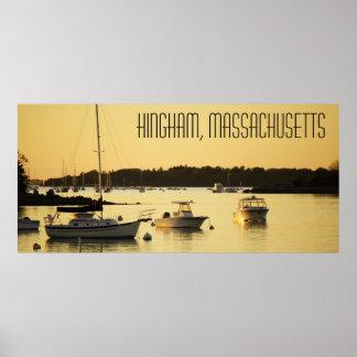 Hingham Massachusetts Plakat