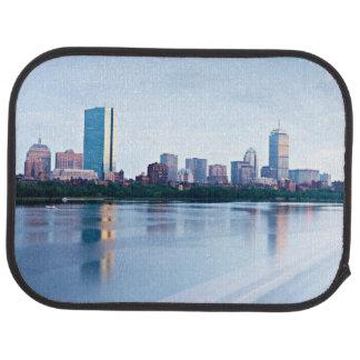 Hintere Bucht Bostons über Charles River Autofußmatte
