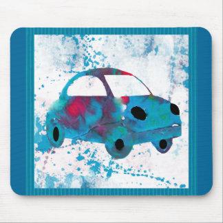 Hippie-Retro Auto-BuggyWatercolor Mauspads