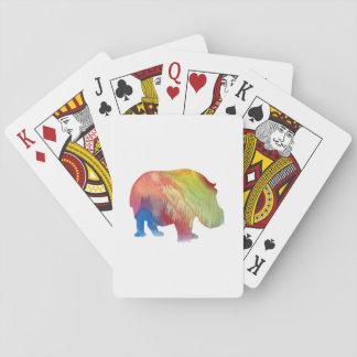 Hippopotamus Spielkarten