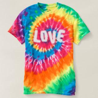 Hippy Blumen-Power-Liebe T-shirt