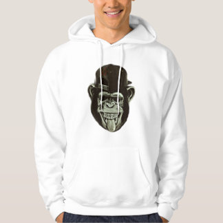 Hipster-Gorilla Hoodie