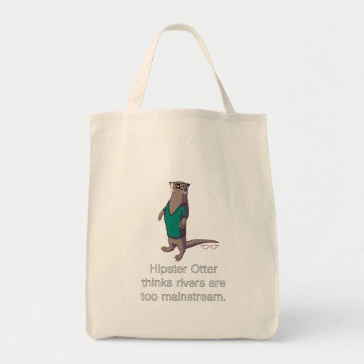 Hipster-Otter-Tasche