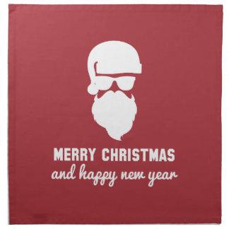 Hipster-Weihnachten Stoffserviette