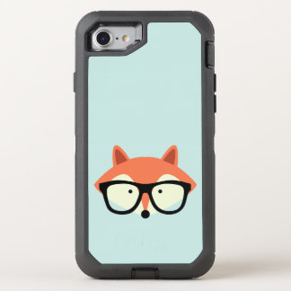 Hipsterroter Fox OtterBox Defender iPhone 8/7 Hülle