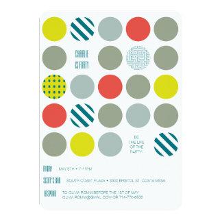 Hipstertwister-Geburtstags-Einladung 12,7 X 17,8 Cm Einladungskarte