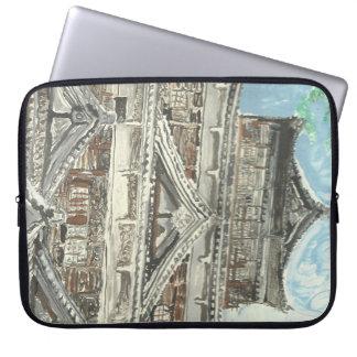 Hiroshima-Schloss-Japan-Computer-Laptop-Hülse Laptopschutzhülle