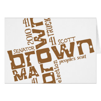 Historischer Scott Brown Karte