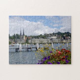 Historisches Stadtzentrum der Luzerne Puzzle