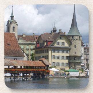 Historisches Stadtzentrum der Luzerne Untersetzer