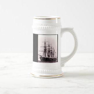HMS Agincourt 1865 Bierkrug