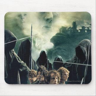Hobbits bereit zu kämpfen mousepad
