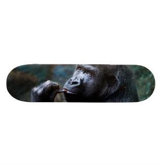 Hochland-Gorilla - Sammeln-Zähne Bedruckte Skateboarddecks