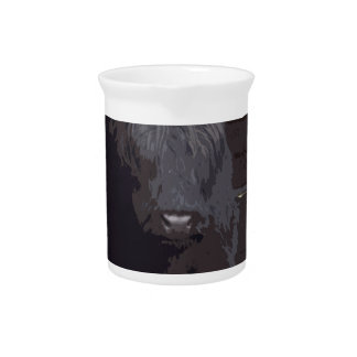 Hochland-Kuh Getränke Pitcher