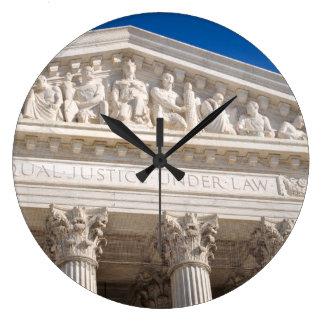 Höchstes Gericht des USA Große Wanduhr