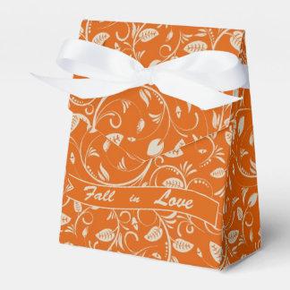 Hochzeit im Herbsts-Bevorzugungs-Kasten Geschenkkartons
