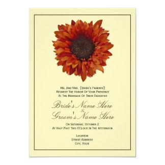 Hochzeit im Herbsts-Einladung - von den Eltern der 12,7 X 17,8 Cm Einladungskarte