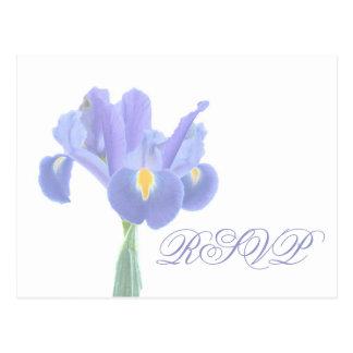 Hochzeit UAWG Iris-Postkarten Postkarte