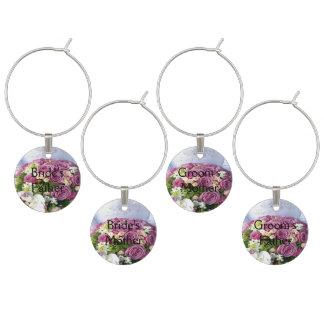Hochzeits-Blumenstrauß-Hochzeit - Eltern Glasmarker