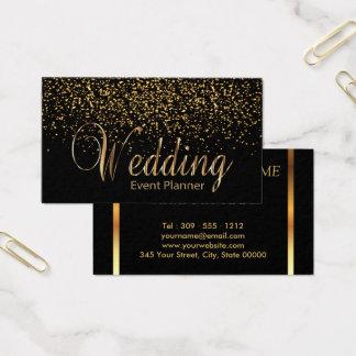 Hochzeits-Event-Planer - GoldConfetti Visitenkarten