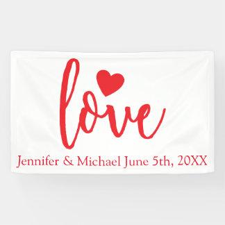 Hochzeits-Fahne Banner
