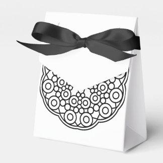 Hochzeits-Geschenkboxen: Schwarz-weiß Geschenkkarton