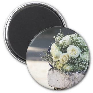 Hochzeits-Heiratgeschenke für Braut Runder Magnet 5,7 Cm