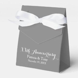 Hochzeits-Jahrestag personalisiert - Auswahlfarbe Geschenkschachtel