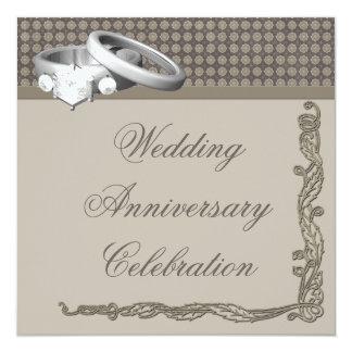 Hochzeits-Jahrestags-Party Einladung