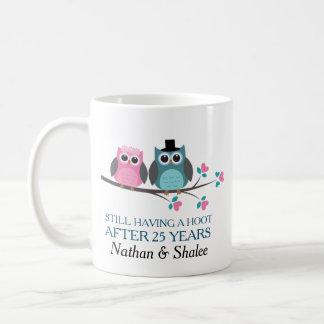 Hochzeits-Jahrestags-personalisierte Tasse