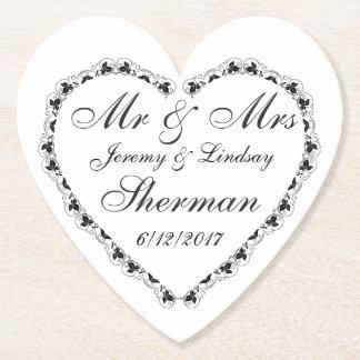 Hochzeits-Paar-personalisierter kundenspezifischer