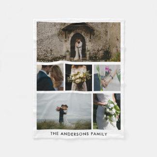 Hochzeits-Paare sechs Hochzeits-Geschenk der Fleecedecke