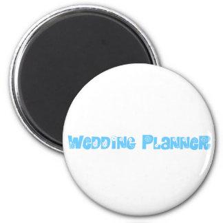 Hochzeits-Planer Runder Magnet 5,1 Cm
