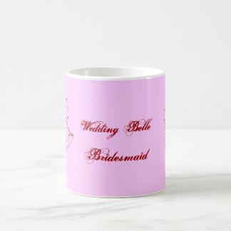 Hochzeits-Schönheits-Brautjungfer Tasse
