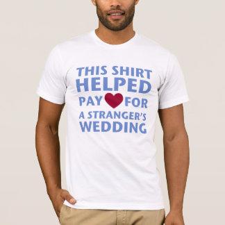 Hochzeits-Shirt! T-Shirt