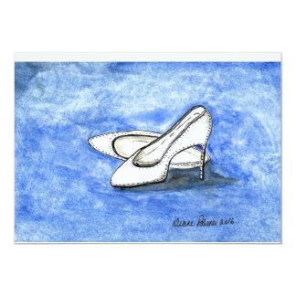 Hochzeitstag-Schuhe Karte