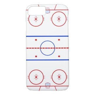 Hockey-Eisbahn iPhone 8/7 Hülle