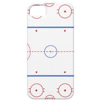 Hockey-Eisbahn iPhone Fall iPhone 5 Hüllen
